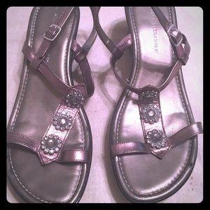 Athena Alexander wedge sandals